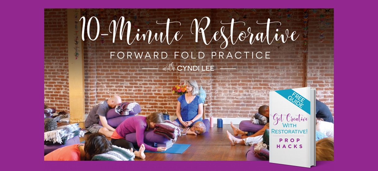 Want to learn more about Restorative Yoga?